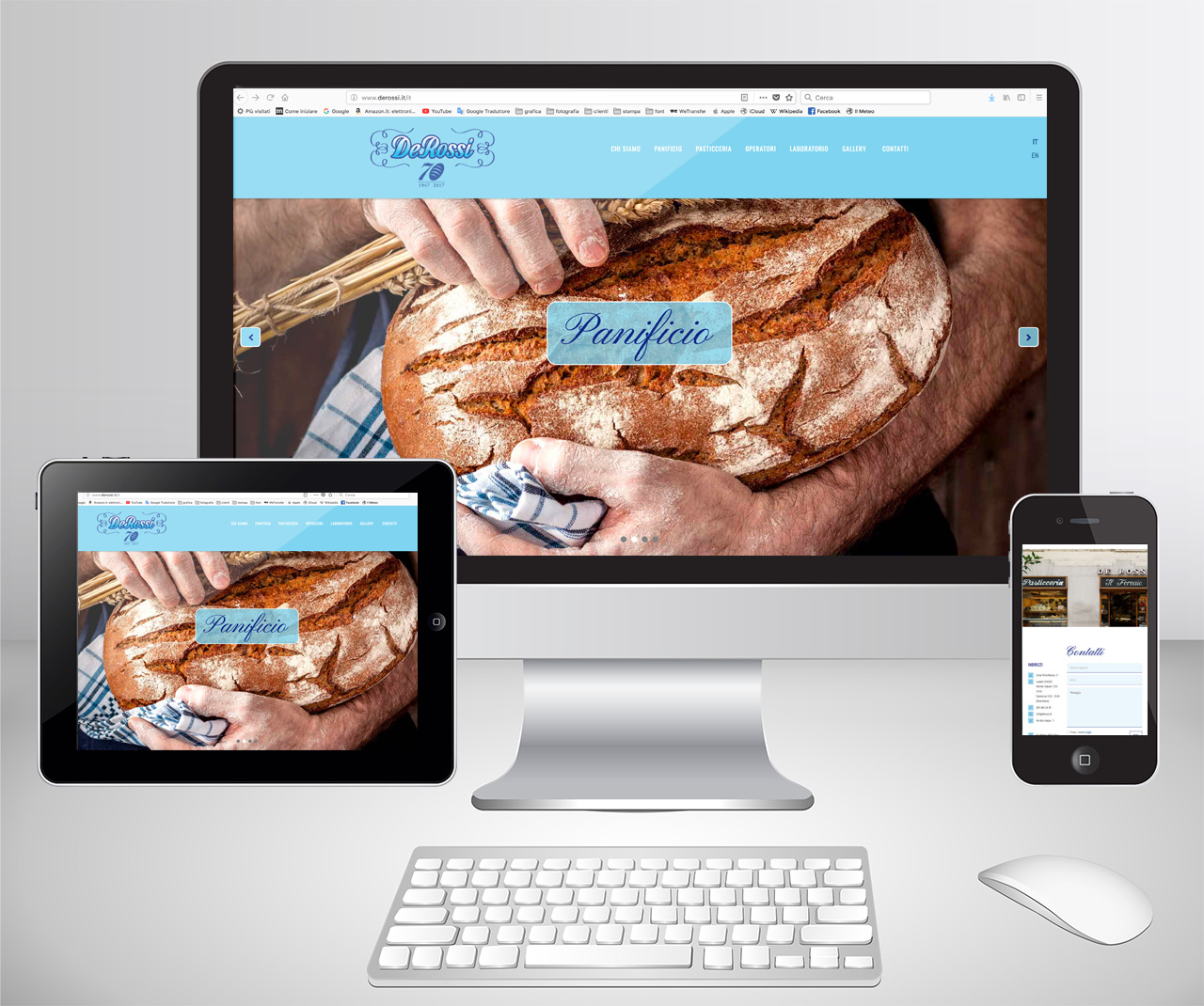 sito internet De Rossi